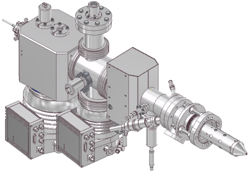 3D CAD Model of the GCIB 40 Gas Cluster Ion Beam